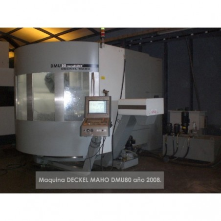 DECKEL MAHO DMU-80 5-axis HI-SPEED 2008