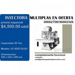 vertical fuel transfer multiplas moldelo VC-SD5T-8LDC