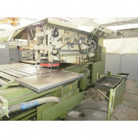 Used rotary stamping and nibbling machine make Behrens type 618/1250