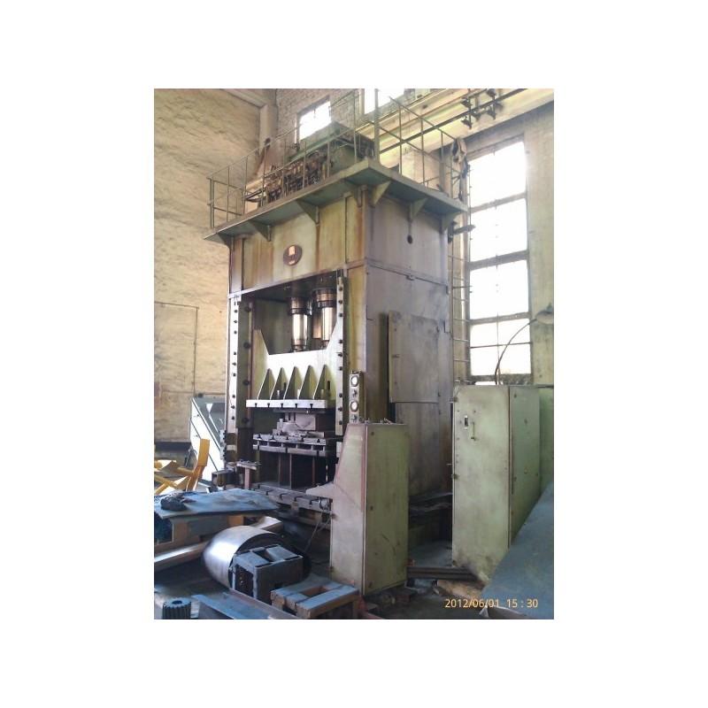 Hydraulic press PA3438 with hydraulic cushion