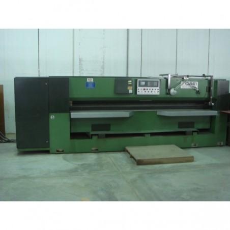 Machine shears for sheet metal cutting wood casati