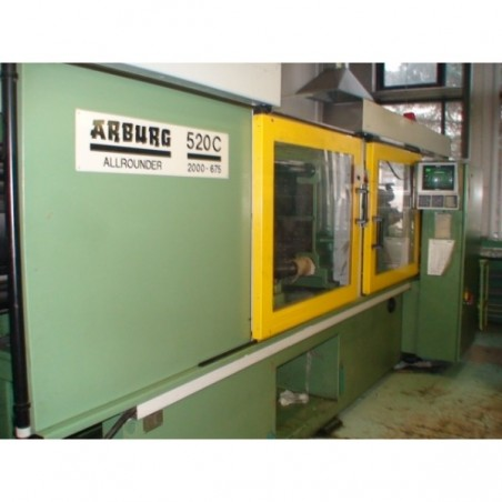 Injection Press ALLROUNDER ARBURG 520C 2000