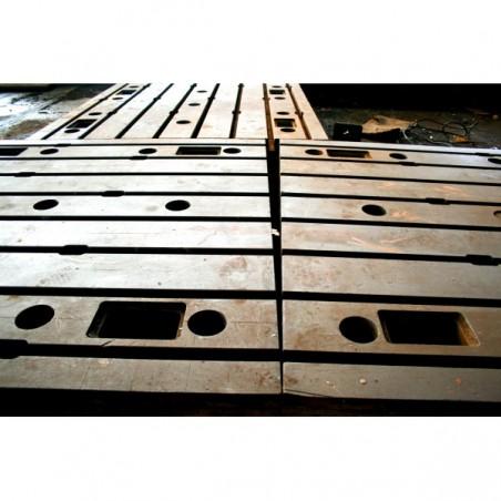 Floor Plates in cast iron 1750 x 3850 mm
