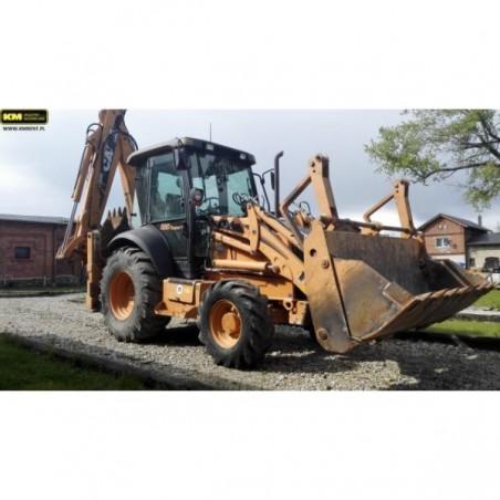 retro excavadora Case 580SR 2008
