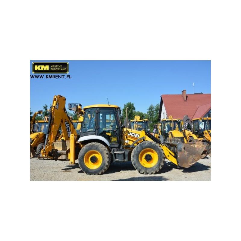 retro excavadora JCB 4CX 2012