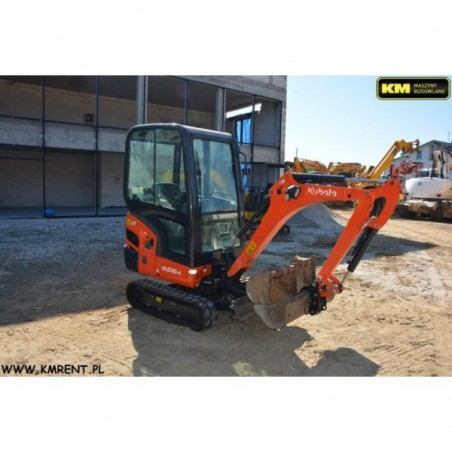 mini excavadora Kubot KX016 2014