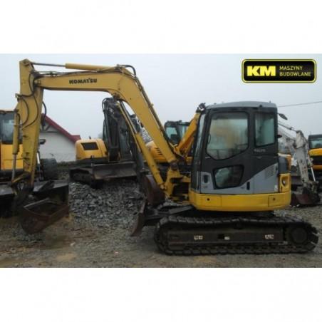 mini excavadora Komatsu PC78 2006