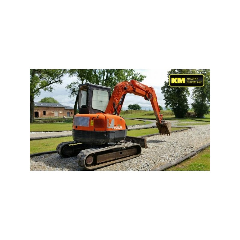 mini excavadora Hitachi EX55UR 2002