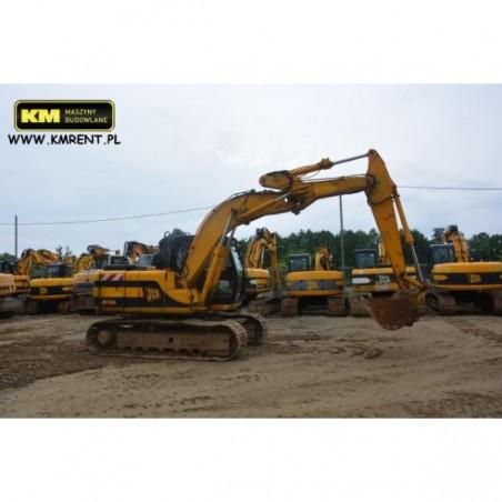 excavadora oruga JCB JS 130 2001