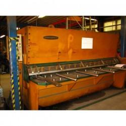 guillotina hidraulic 13x3000 mm