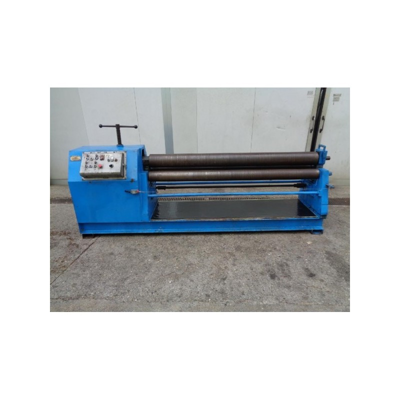 2000X4 CALANDER 2 ROLLERS FIXED, 1 ROLLER MOTORIZED